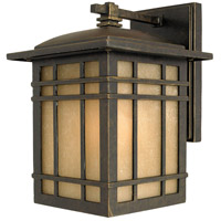 Hillcrest 1 Light 10 inch Imperial Bronze Outdoor Wall Lantern in Standard