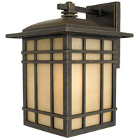 Hillcrest 1 Light 13 inch Imperial Bronze Outdoor Wall Lantern in Standard