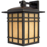 Quoizel Lighting Hillcrest 1 Light Outdoor Wall Lantern in Imperial Bronze HC8411IB