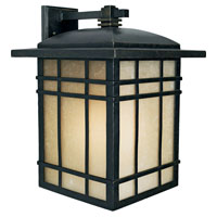 Hillcrest 1 Light 17 inch Imperial Bronze Outdoor Wall Lantern in Standard