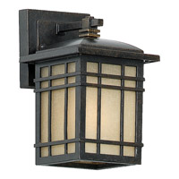 Quoizel Hillcrest 1 Light Outdoor Wall Lantern in Imperial Bronze HC8506IBFL