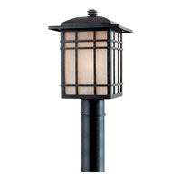 Quoizel HC9011IBFL Hillcrest 1 Light 17 inch Imperial Bronze Outdoor Post Lantern in Fluorescent alternative photo thumbnail