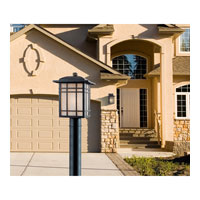 Quoizel Lighting Hillcrest 1 Light Outdoor Post Lantern in Imperial Bronze HC9011IB alternative photo thumbnail