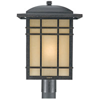 Quoizel Lighting Hillcrest 1 Light Outdoor Post Lantern in Imperial Bronze HC9013IB