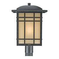 Quoizel Hillcrest 1 Light Outdoor Post Lantern in Imperial Bronze HC9013IBFL