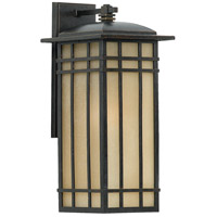 Hillcrest 1 Light 20 inch Imperial Bronze Outdoor Wall Lantern in Standard