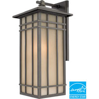 Hillcrest 1 Light 20 inch Imperial Bronze Outdoor Wall Lantern in Fluorescent
