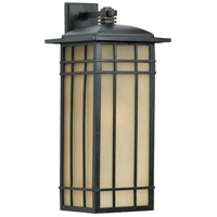 Quoizel HCE8411IB Hillcrest 1 Light 25 inch Imperial Bronze Outdoor Wall Lantern in Standard