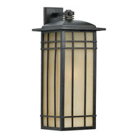 Quoizel HCE8411IB Hillcrest 1 Light 25 inch Imperial Bronze Outdoor Wall Lantern in Standard alternative photo thumbnail