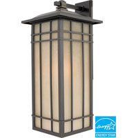 Hillcrest 1 Light 25 inch Imperial Bronze Outdoor Wall Lantern in Fluorescent