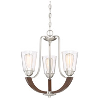 Quoizel HE5003BN Holbeck 3 Light 19 inch Brushed Nickel Dinette Chandelier Ceiling Light