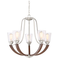Quoizel HE5005BN Holbeck 5 Light 27 inch Brushed Nickel Chandelier Ceiling Light