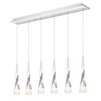 Quoizel HEN639C Hensley LED 39 inch Polished Chrome Island Chandelier Ceiling Light