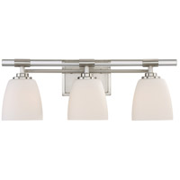 Quoizel Highfield 3 Light Bath Light in Brushed Nickel HFD8603BN