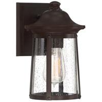 Quoizel HGN8406WT Hogan 1 Light 10 inch Western Bronze Outdoor Wall Lantern