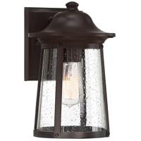 Quoizel HGN8408WT Hogan 1 Light 12 inch Western Bronze Outdoor Wall Lantern