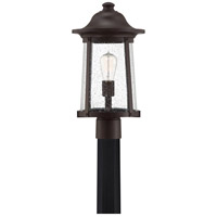 Quoizel HGN9010WT Hogan 1 Light 18 inch Western Bronze Outdoor Post Light