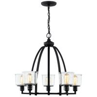 Quoizel HOL5027EK Holden 5 Light 27 inch Earth Black Chandelier Ceiling Light