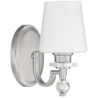 Quoizel HS8601BN Hollister 1 Light 8 inch Brushed Nickel Bath Light Wall Light