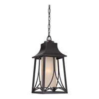Quoizel Hunter 1 Light Outdoor Hanging Lantern in Imperial Bronze HTR1908IBFL