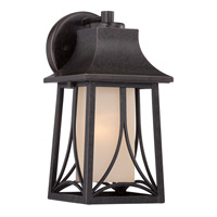 Quoizel Hunter 1 Light Outdoor Wall Lantern in Imperial Bronze HTR8406IBFL