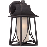 Quoizel HTR8407IB Hunter 1 Light 15 inch Imperial Bronze Outdoor Wall Lantern