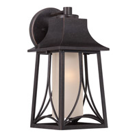 Quoizel Hunter 1 Light Outdoor Wall Lantern in Imperial Bronze HTR8407IBFL