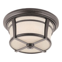 Quoizel Lighting Harmony 2 Light Outdoor Flush Mount in Imperial Bronze HY1614IB photo thumbnail