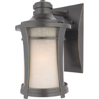 Quoizel Lighting Harmony 1 Light Outdoor Wall Lantern in Imperial Bronze HY8407IB