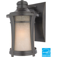Harmony 1 Light 11 inch Imperial Bronze Outdoor Wall Lantern in Fluorescent