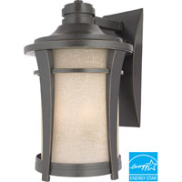 Quoizel Lighting Harmony 1 Light Outdoor Wall Lantern in Imperial Bronze HY8411IBFL