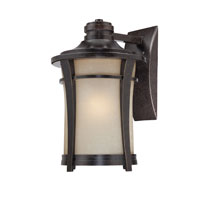 Quoizel Lighting Harmony 1 Light Outdoor Wall Lantern in Imperial Bronze HY8413IB