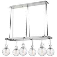 Quoizel HYR636AN Hybrid 6 Light 36 inch Antique Nickel Island Chandelier Ceiling Light