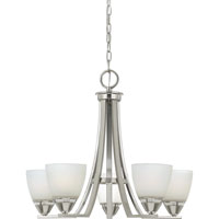 Quoizel Lighting Ibsen 5 Light Chandelier in Brushed Nickel IE5005BN