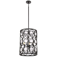 Jubilee 4 Light 16 inch Mystic Black Foyer Pendant Ceiling Light