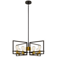 Quoizel JC5008PN Junction 8 Light 30 inch Palladian Bronze Chandelier Ceiling Light