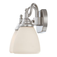 Quoizel Lighting Jefferson 2 Light Bath Vanity in Brushed Nickel JFN8602BN alternative photo thumbnail