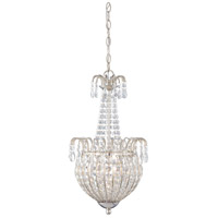 Quoizel Lighting Jolene 3 Light Pendant in Imperial Silver JLE2812IS