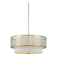 Quoizel Lighting Josslyn 3 Light Pendant in Brushed Nickel JS1820BN