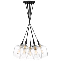 June 7 Light 25 inch Earth Black Pendant Ceiling Light