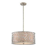 Quoizel Jarvis 3 Light Pendant in Old Silver JV2820OS