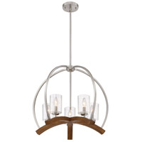 Quoizel KDN5005BN Kayden 5 Light 24 inch Brushed Nickel Chandelier Ceiling Light, Naturals alternative photo thumbnail