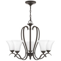 Quoizel KGF5005OZ Kingfield 5 Light 25 inch Old Bronze Chandelier Ceiling Light