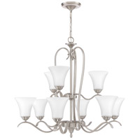 Kingfield 9 Light 32 inch Brushed Nickel Chandelier Ceiling Light