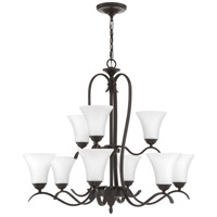 Quoizel KGF5009OZ Kingfield 9 Light 32 inch Old Bronze Chandelier Ceiling Light