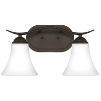 Kingfield 2 Light 16 inch Old Bronze Bath Light Wall Light, Medium