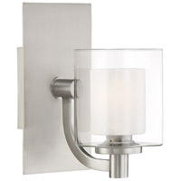Kolt LED 8 inch Brushed Nickel Bath Light Wall Light