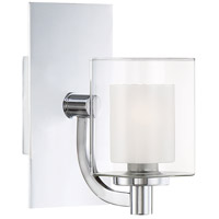 Kolt LED 8 inch Polished Chrome Bath Light Wall Light