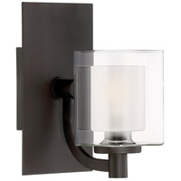 Quoizel KLT8601WTLED Kolt LED 8 inch Western Bronze Bath Light Wall Light