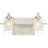 Quoizel KLT8602BNLED Kolt LED 13 inch Brushed Nickel Bath Light Wall Light